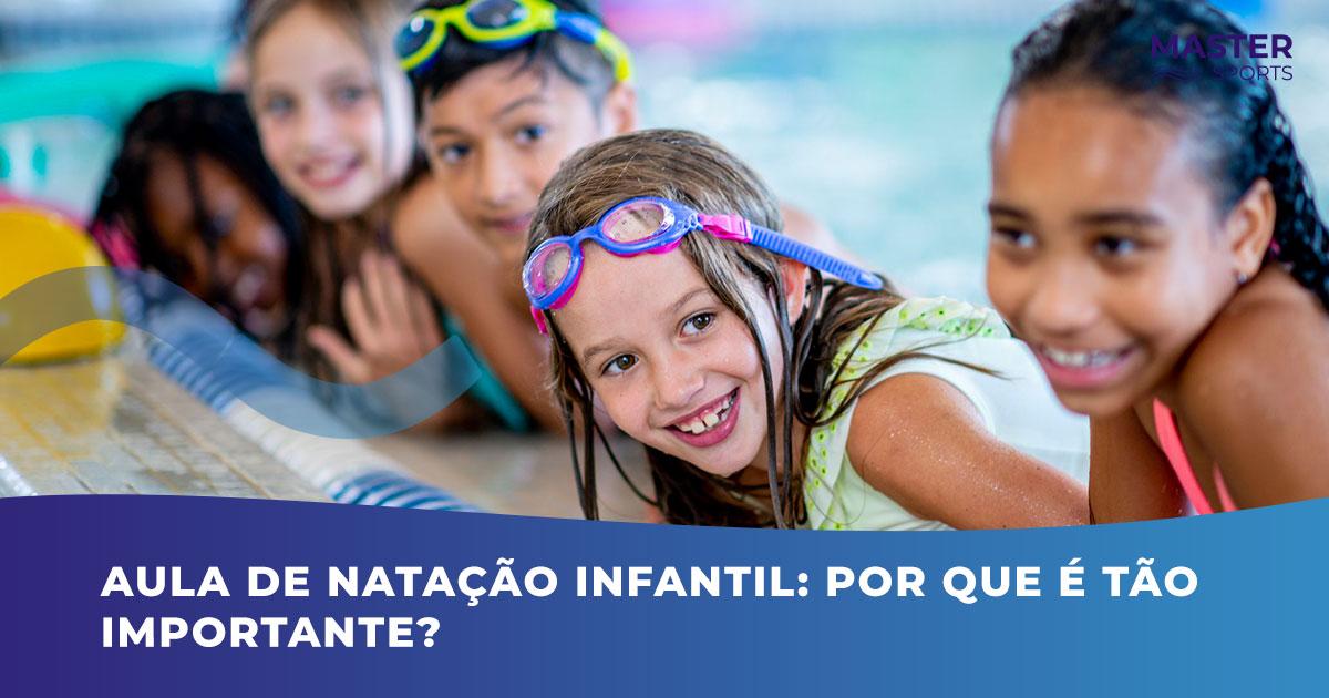 Importância da Aula de Natação Infantil