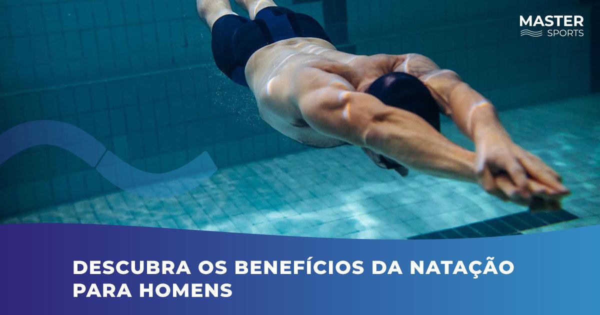 Benefícios da natação para homens com as dicas da Master Sports