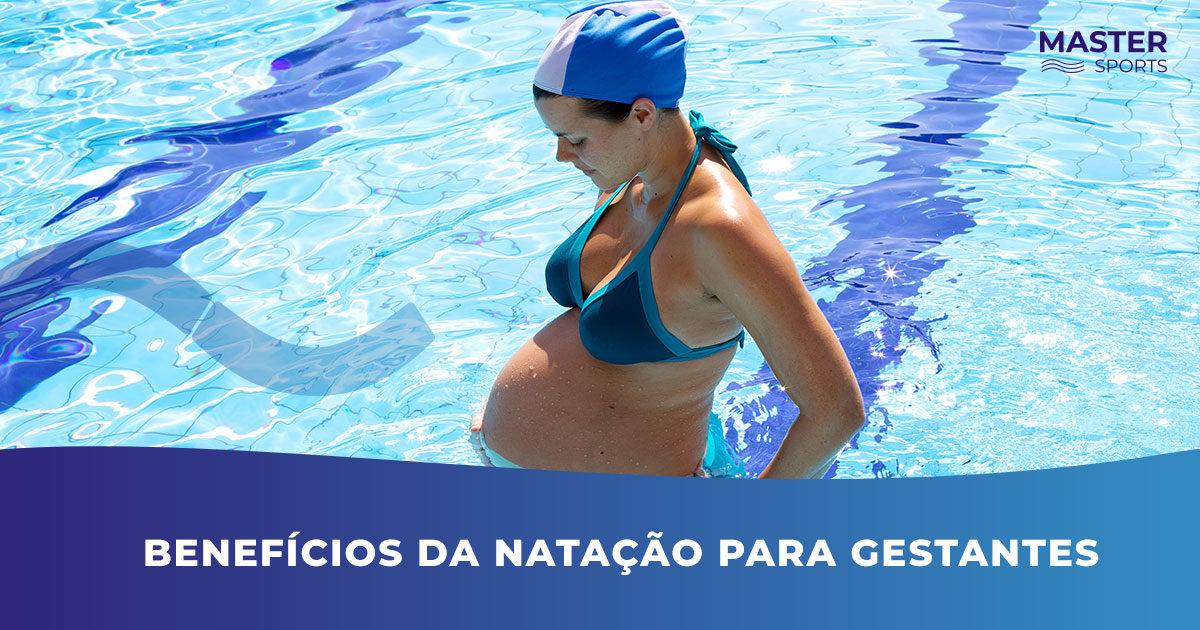 Benefícios da natação para gestantes
