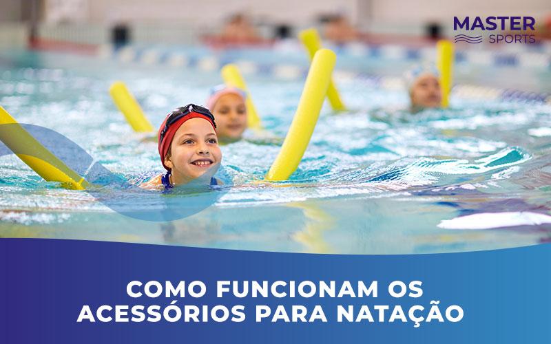 Acessórios para natação